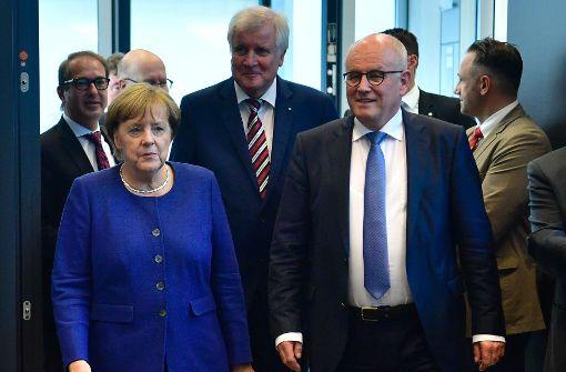 Volker Kauder hat wieder den Vorsitz