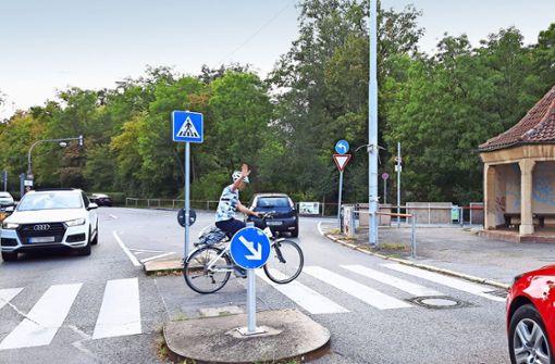 Die Meinungen der Beiräte über die Pläne des Tiefbauamts  zur Umgestaltung der Kreuzung Doggenburg gehen auseinander. Foto: Eva Funke