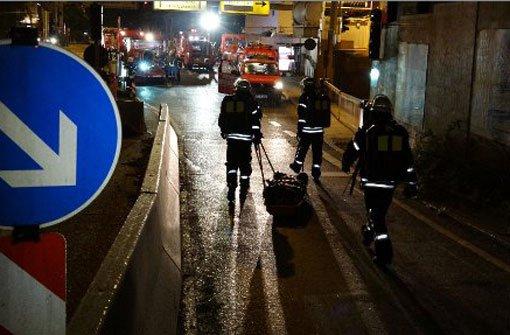 Stuttgarter Feuerwehr probt Ernstfall
