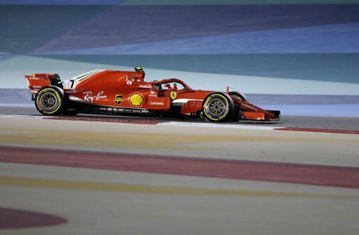 Kimi Räikkönen bricht Mechaniker Bein bei Boxenstopp