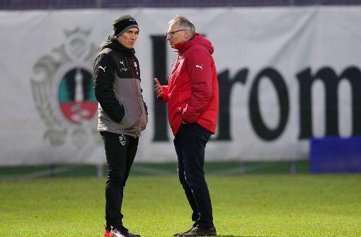 VfB-Sportvorstand Michael Reschke... Foto: Pressefoto Baumann