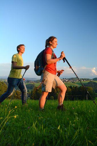 Wandern im Einklang mit der Natur  Foto: Scheidegg-Tourismus