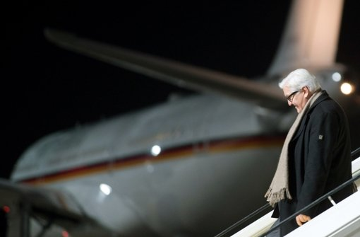 """Außenminister Frank-Walter Steinmeier hält von Julia Klöckners """"Plan A2"""" nicht viel. (Archivfoto) Foto: dpa"""