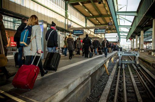 Zugausfälle an Pfingsten – Strecken aus Stuttgart betroffen
