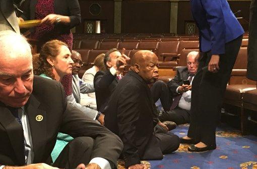 Tumulte im US-Kongress