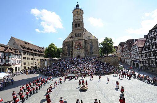 Malerische Städtchen mit mittelalterlichem Flair