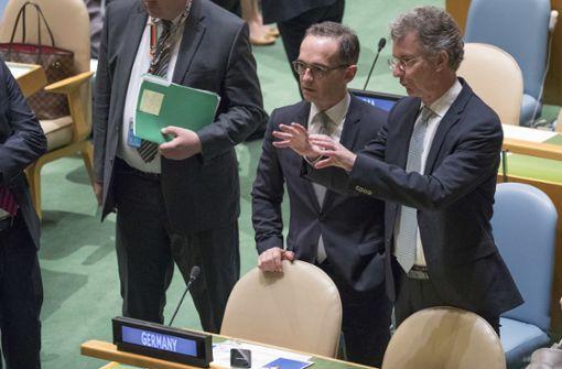 Deutschland erneut in UN-Sicherheitsrat gewählt