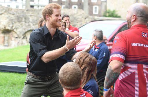 Prinz Harry trifft kriegsversehrte Soldaten