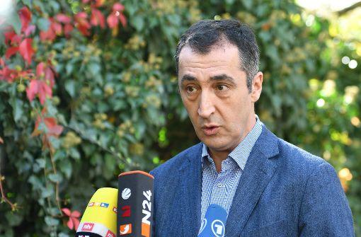 Özdemir fordert baldige Verhandlungen