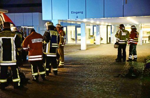 Evakuierung der Klinik binnen fünf Minuten