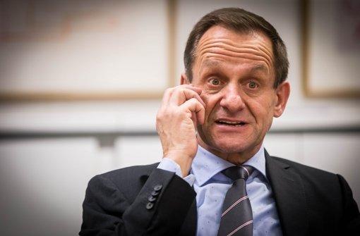 Deutliche Worte: DOSB-Präsident Alfons Hörmann Foto: Lichtgut/Achim Zweygarth