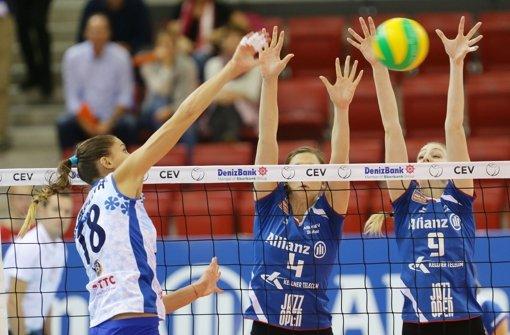 Volleyballerinnen verlieren Champions-League-Partie