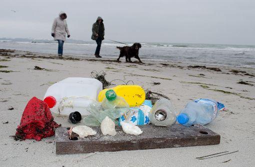 Plastikmüll und Krämermarkt