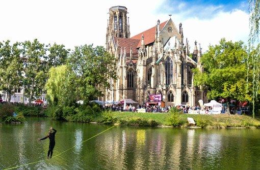 Auch an diesem Wochenende ist in Stuttgart wieder jede Menge los, wie zum Beispiel am Feuersee. In unserer Bildergalerie haben wir die besten Tipps gesammelt. Foto: Merlin