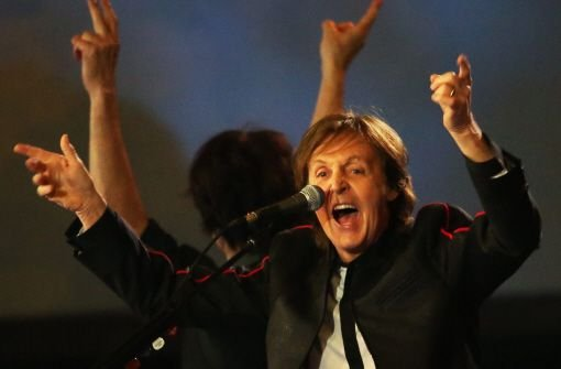 Paul McCartney auf musikalischer Mission