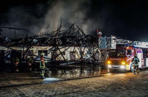 Großbrand auf Golfplatz – Feuer unter Kontrolle