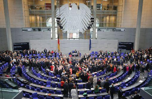 Bundestag beschließt Gesetz