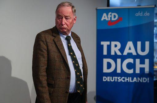 """Alexander Gauland und AfD wollen """"Merkel jagen"""""""