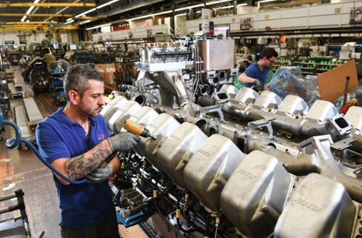 Aktuell beschäftigt Rolls Royce Power Systems in Friedrichshafen knapp 6000 Mitarbeiter. Foto: dpa