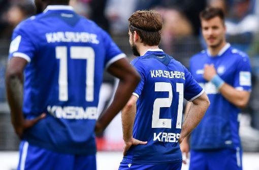 KSC setzt Abschiedstour aus 2. Liga fort