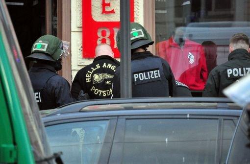 1000 Polizisten gegen Rocker im Einsatz