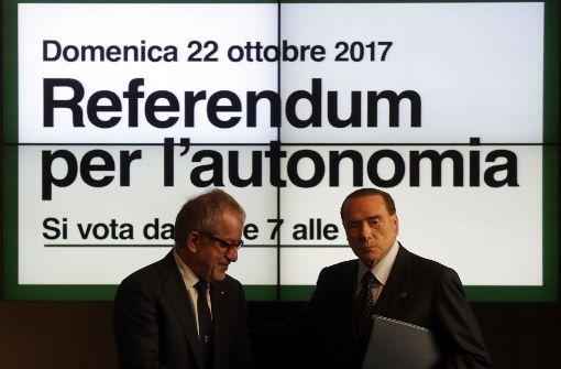 Lombardei und Venetien sehen sich als Sieger