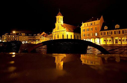 Mitternacht auf dem Marktplatz