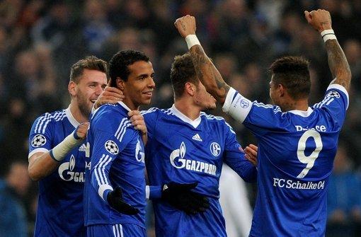 Schalke erreicht das Achtelfinale