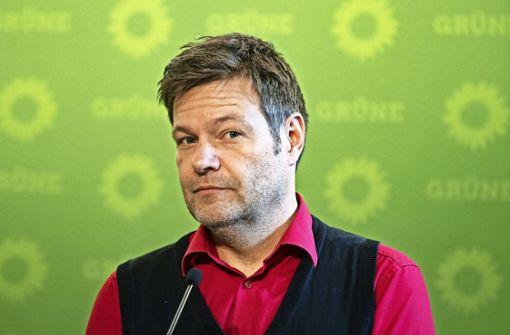 Robert Habeck (Bündnis 90/Die Grünen) Foto: dpa