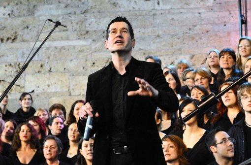 Thomas Dillenhöfer und der Chor Gospel im Osten sind in wenigen Tagen die Gastgeber des ungewöhnlichen Sängertreffens. Foto: privat
