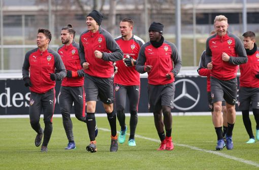 Zwei Akteure fehlen im VfB-Training