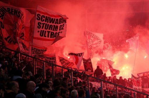Stadionverbot für 80 VfB-Ultras beim Heimspiel