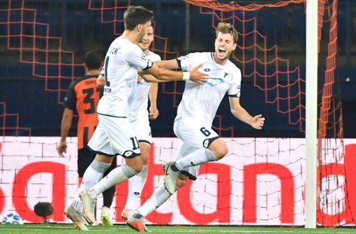 TSG 1899 Hoffenheim stark bei Königsklassen-Debüt - 2:2 gegen Donezk