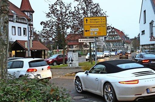 Weissach automobile tr ume schl ngeln sich durch den for Porsche zentrum boblingen