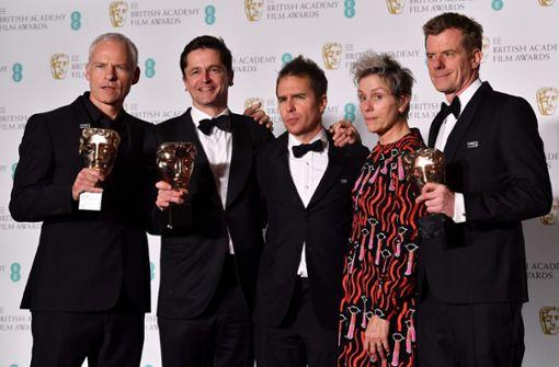 """""""Three Billboards"""" räumt bei britischen Filmpreisen ab"""