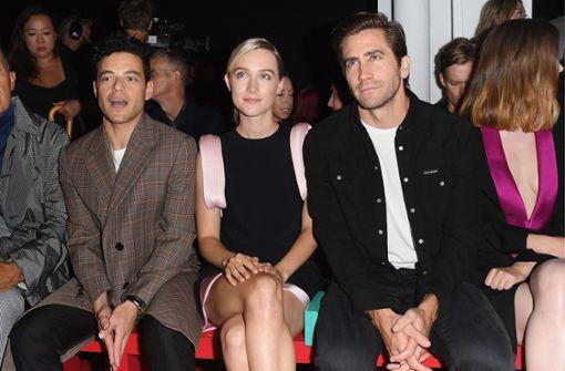... Schauspielerin Saoirse Ronan und Schauspieler Jake Gyllenhaal (rechts) sahen sich die Schau an. Foto: GETTY IMAGES