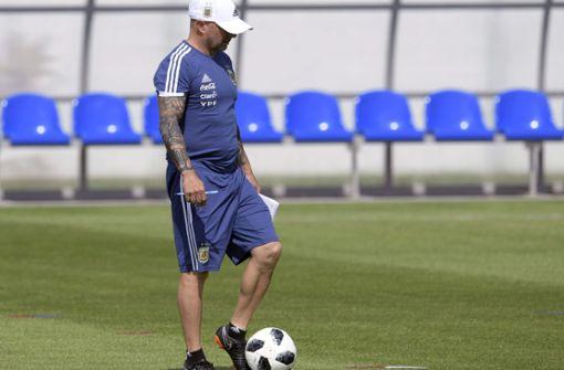 Gerüchte über Entmachtung des argentinischen Trainers