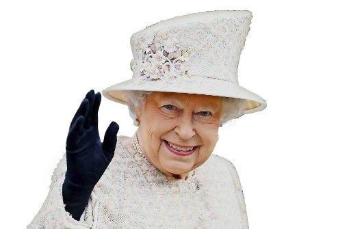 Die Queen zeigt Größe