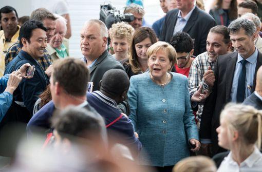 Angela Merkel ist zurück aus der politischen Sommerpause und hat gleich viel zu tun. Foto: dpa