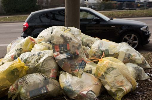 Beim Melden von Müllmengen im Dualen System gibt es Probleme. Foto: Lichtgut/Max Kovalenko