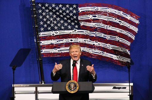"Trump-Dekret zu ""Buy American""-Politik"