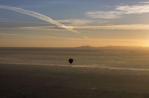 Tourist stirbt bei Notlandung eines Heißluftballons