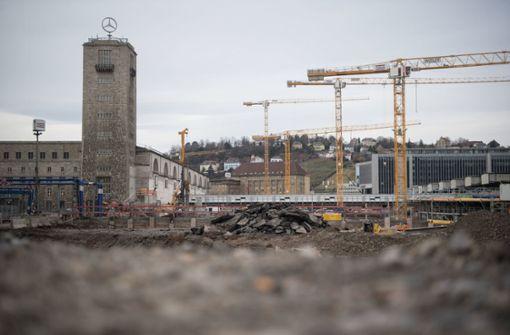 Stuttgart 21 wird erheblich teurer und nicht vor 2025 fertig. An den Mehrkosten will sich Baden-Württemberg nicht beteiligen. (Archivfoto) Foto: dpa