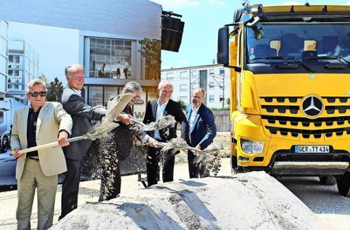 Baustart für Daimlers Truck-Zentrale