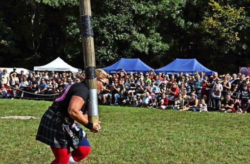 Highlandgames werden zum Volksfest