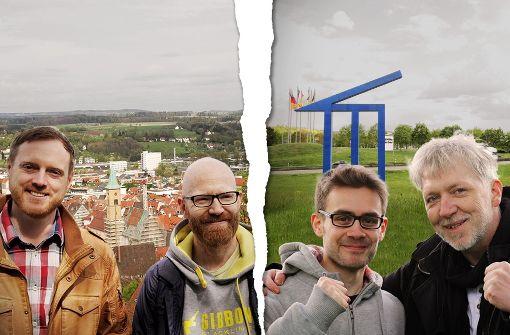 Vier Poeten aus Baden-Württemberg haben sich Gedanken gemacht, welche Region besser ist: Baden oder Schwaben. Foto: Tobias Jansen