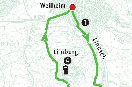 Zum Hausberg von Weilheim