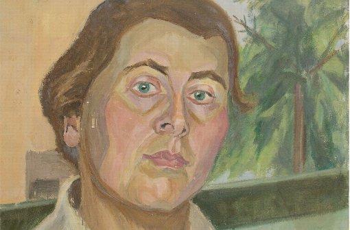 Ernst und müde: Selbstporträt von Alice Haarburger, entstanden um 1940 Foto: Spendhaus Reutlingen
