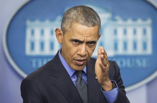 US-Präsident Barack Obama hat sich viel vorgenommen für sein letztes Amtsjahr. Foto: AP