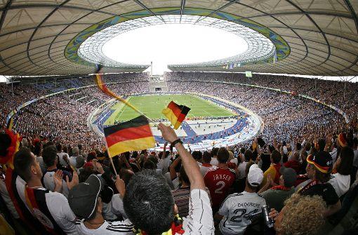 Platz 2: Das Olympiastadion in Berlin mit 93,9% Foto: dpa-Zentralbild